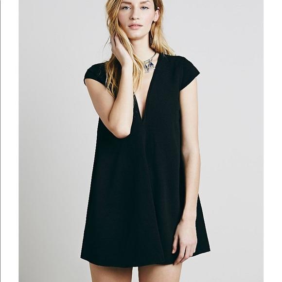 Asilio Dresses & Skirts - NWT Asilio Dusk Till Dawn Black Shift Dress Size 4